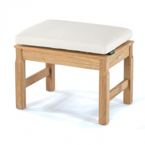 Teak Backless seat cushion - Picture A