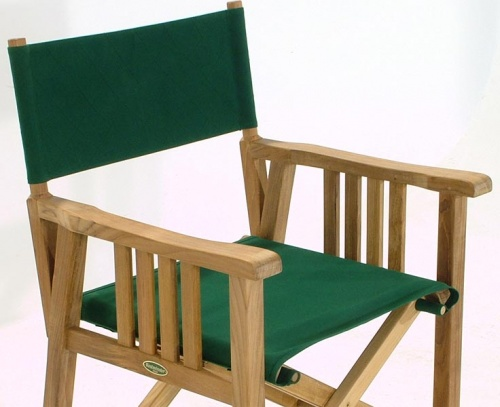 12568 Director Chair Fabric Forest Green - Picture A