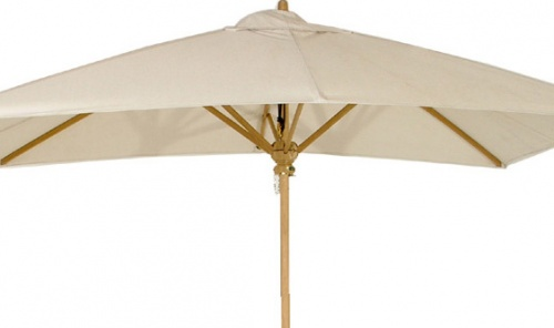 Teak Umbrella Fabric Terracotta - Picture A
