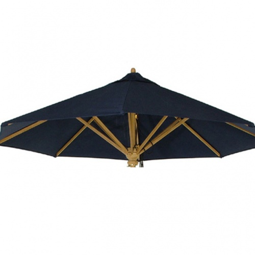 17540 Umbrella Fabric - Navy Blue 0406 - Picture A