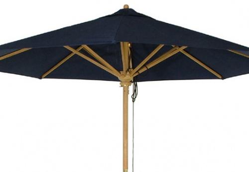 17640 Umbrella Fabric Stone Green - Picture A