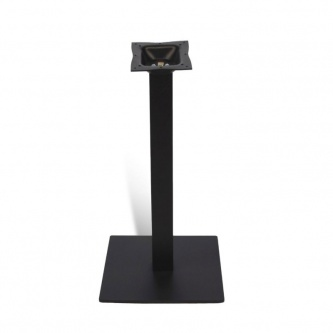 Black Steel Bar Table Base