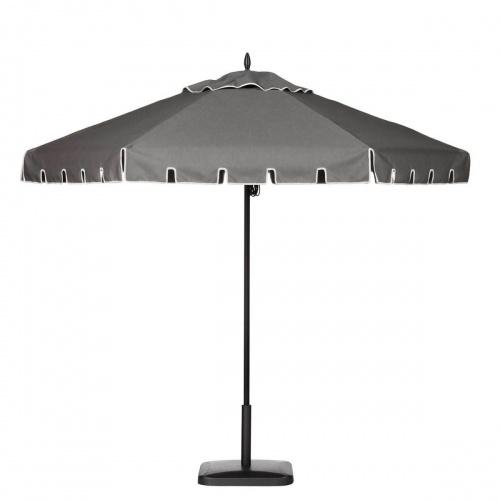 8ft Hexagon Aluminum Umbrella - Picture A