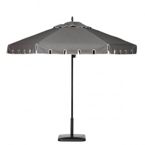 9ft Hexagon Aluminum Umbrella - Picture A