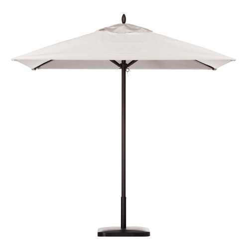 6ft Square Aluminum Umbrella - Picture A
