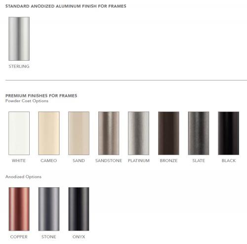 6ft Square Aluminum Umbrella - Picture D
