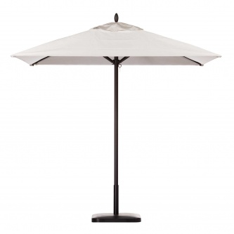 6ft Square Aluminum Umbrella