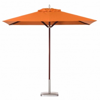 6 x 10 Rectangular Mahogany Umbrella