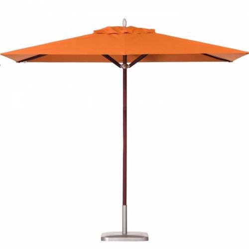 6.5 x 11.5 Rectangular Mahogany Umbrella - Picture A