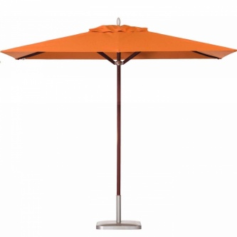 6.5 x 11.5 Rectangular Mahogany Umbrella