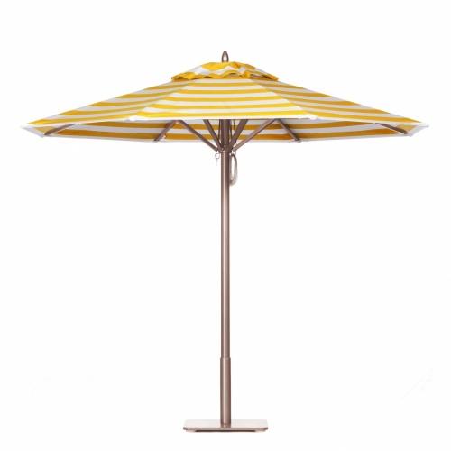 14 ft Hexagon Aluminum XL Umbrella - Picture A