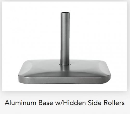 10ft Square Aluminum XL Umbrella - Picture H