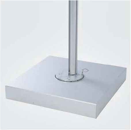 Paver Base Aluminum Cover for Spectra S25  - Picture A