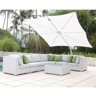 Spectra Solo Umbrella & Paver Base