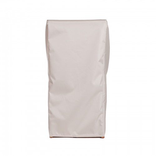 25L x 24W x 38H Stacking Chair Cover - Picture B