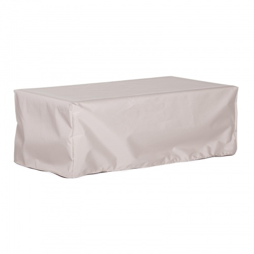 48Lx15Wx17H Backless Bench Cover - Picture A
