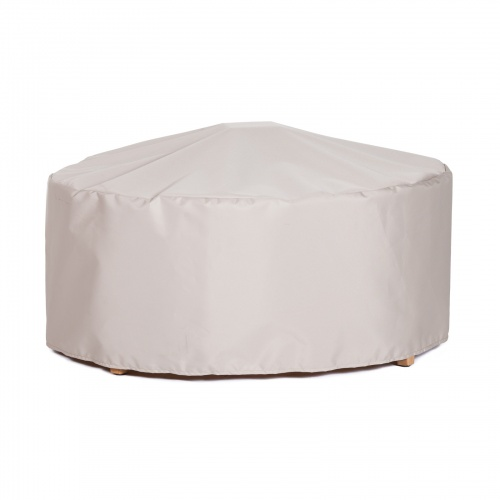 36Dia x 14H Coffee Table/Ottoman Cover - Picture A