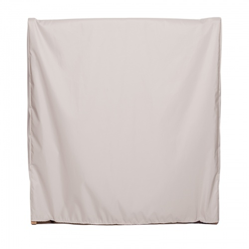 """48i""""x 29in Barbuda Table Cover Folded Position - Picture A"""