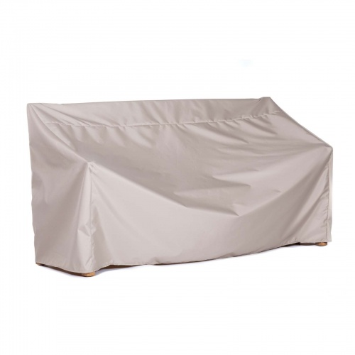 54w x 26D x 34H Small Garden Bench Cover - Picture A