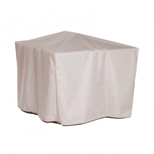 29.75W x 29.75D x 40.5H Bar Table Cover - Picture B