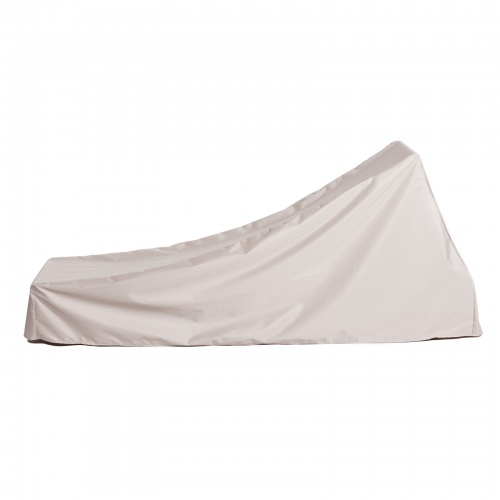 76L x 28W x 13H x 22A Chaise Cover With Arms Small - Picture B