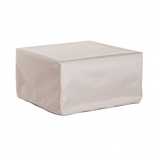 35.5W x 35.5D x 11.75H Ottoman Coffee Table Cover - Picture A
