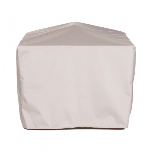 39.5W x 39.5D x 28.75H Square Table Cover - Picture A