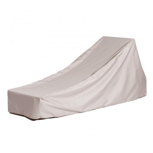 82L x 60W x 14H x 23AH Dbl Chaise Cover With Arms - Picture A