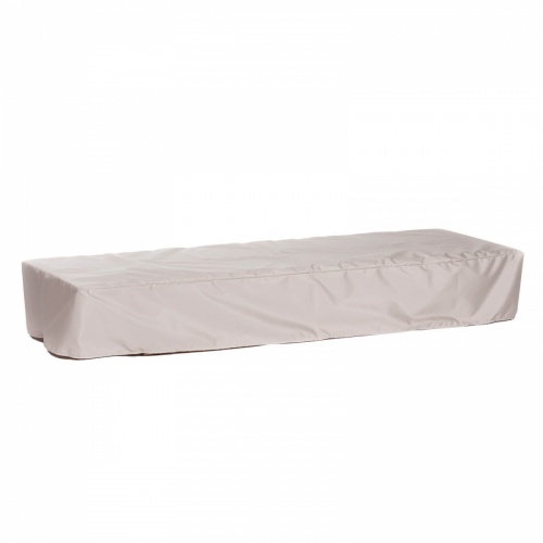 LG Double Armless Chaise Lounger (Flat) - Picture B