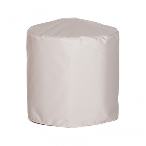 24 dia x 17 H Round Side Table Cover Medium - Picture A