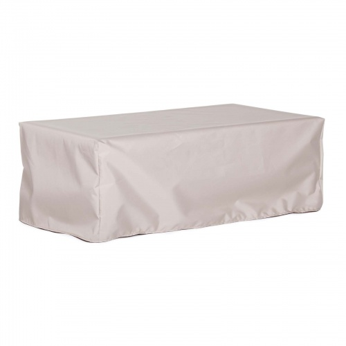 24W x 28D x 17H Rectangle Side Table Cover Medium - Picture A