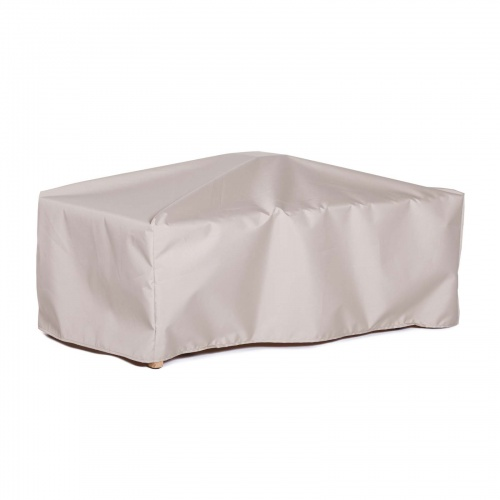 24W x 28D x 17H Rectangle Side Table Cover Medium - Picture B