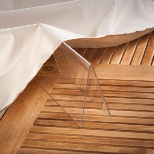 124L x 72W x 34.5H Grand Veranda Patio Set Cover - Picture K