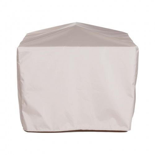 66.5L x 66.5W x 34 Vogue Teak Patio Furniture Set Cover - Picture A