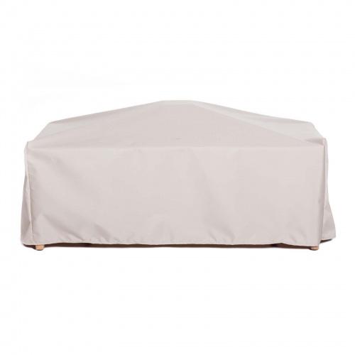 90L x 70W x 37H Martinique 7 pc Bench Set Cover - Picture B