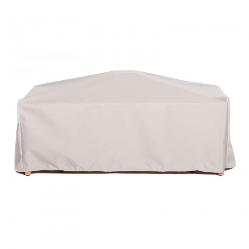 34W x 54D x 17H Rectangle Coffee Table Cover (MED) - Picture C