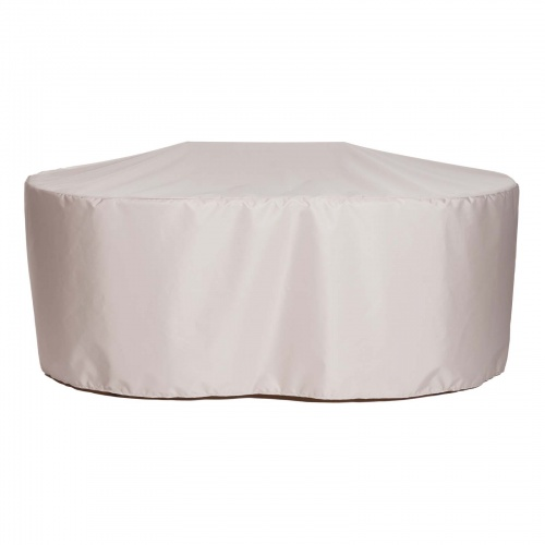 72L x 36W x 29.5H Oval Dining Table Cover (Small) - Picture B