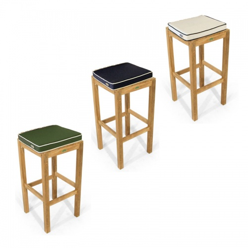 12110 Backless Barstool Cushion - Picture A