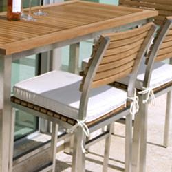 Sunbrella  Barstool Cushion - Picture A
