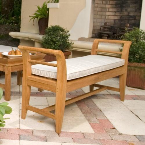 W3312PH Aman Dais Bench Cushion - Picture B