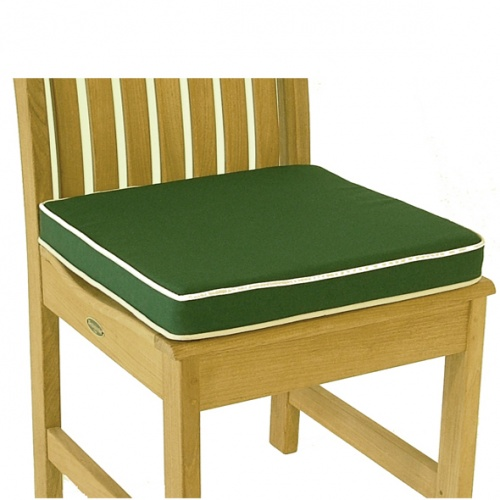 WDC Sunbrella Dining Chair Cushion - Picture A