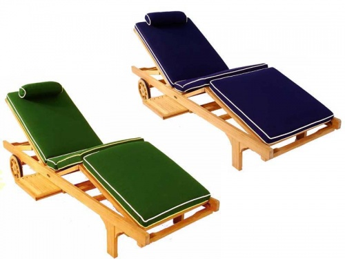 Chaise Lounger Cushion - Picture A