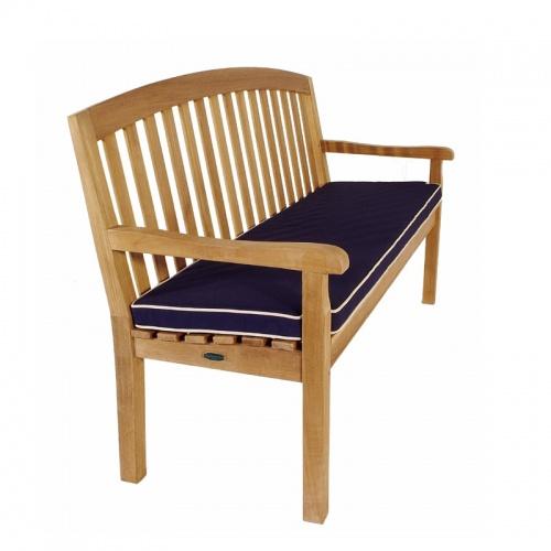 5 Foot Sunbrella Bench Cushion - Picture A