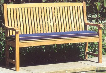 5' Bench Cushion - 20 D - Picture A