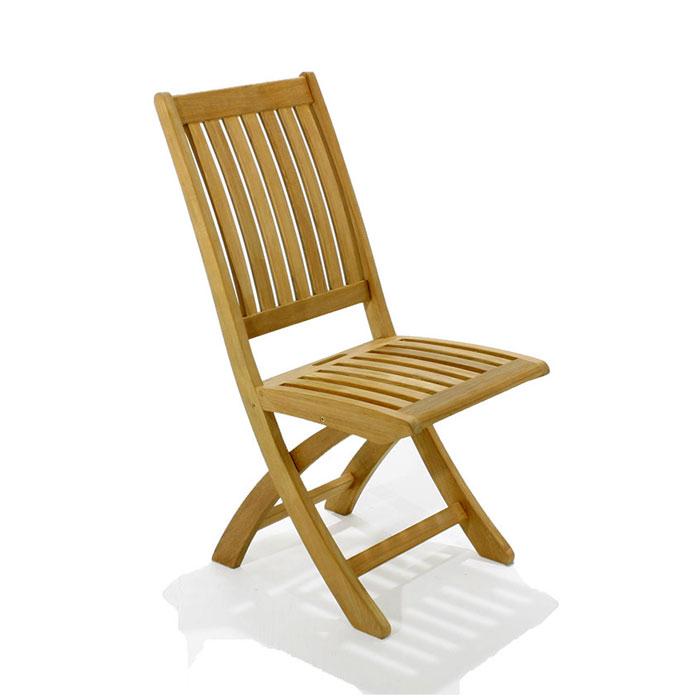 Charmant The Barbuda Teak Folding Chair ...