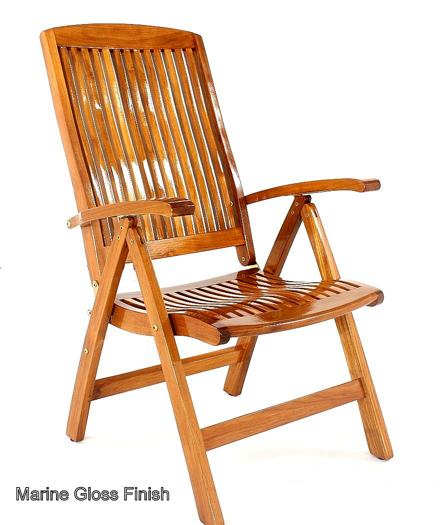 The Barbuda Outdoor Recliner is our most &le folding chair ...  sc 1 st  Westminster Teak & Barbuda Adjustable Recliner Chair - Westminster Teak Outdoor Furniture islam-shia.org