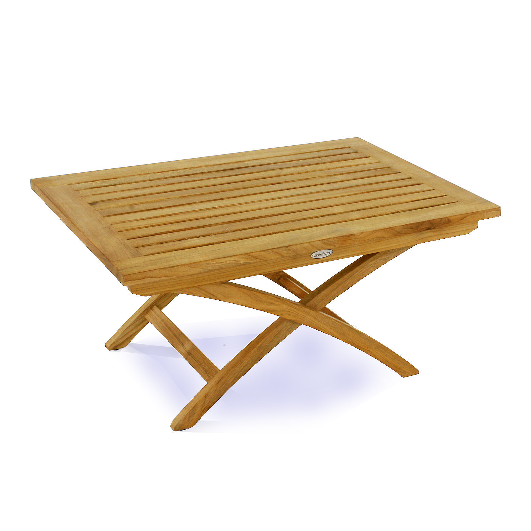 westminster teak folding coffee table - westminster teak outdoor