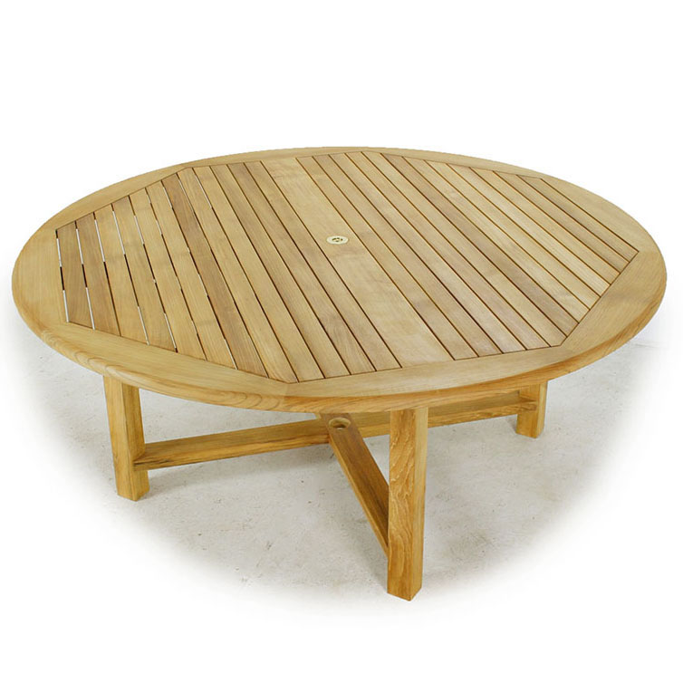 Teak Wood Round Dining Set  Westminster Teak Outdoor