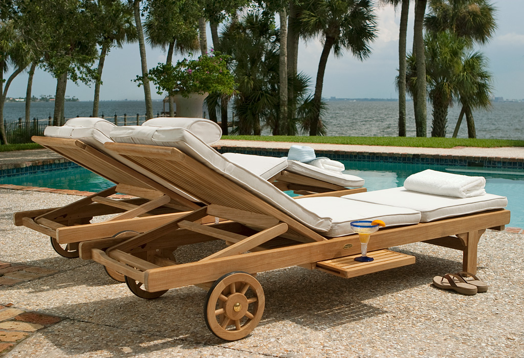 Double Somerset Chaise Set Westminster Teak