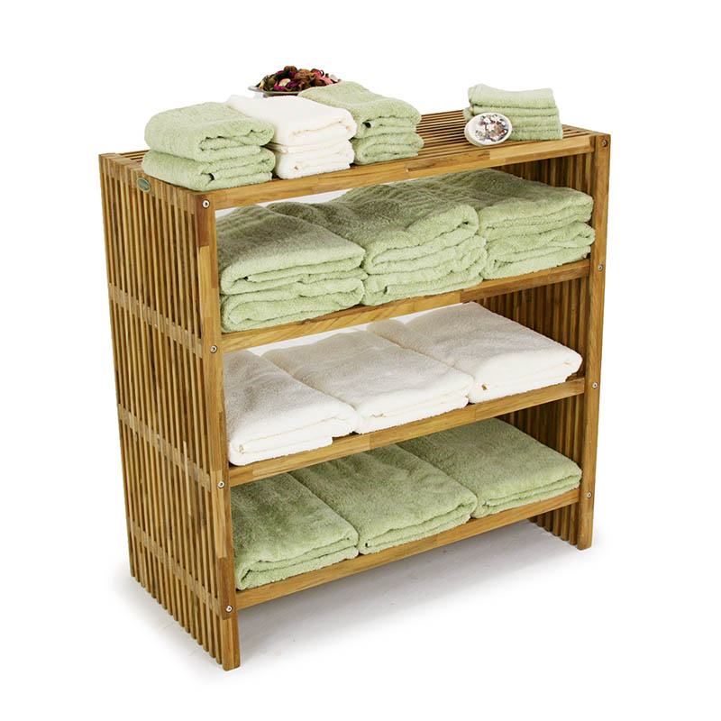 Westminster Teak Wood Waterproof Towel Shelf - Westminster Teak ...